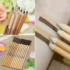 12PCS 2 in 1 Eyeliner/Eyebrow Pencil + Concealer Pencil Double Function 2 Head