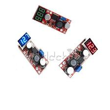 DC Adjustable Buck Step Down Converter lm2596 Voltage Regulator with Voltmeter W