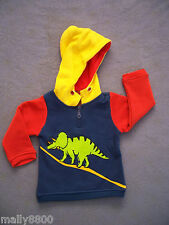 Boys - Deezo - Fleecy Hooded Jumper - Hoody - Size 00-2
