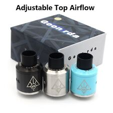 Goon RDA tank rebuildable dripping atomizerr wide bore drip tip fast shipping