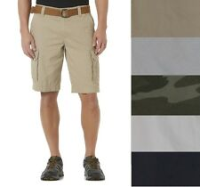 Roebuck and Co Young Mens Belted Cargo Shorts Cotton sizes 30 32 34 36 40 NEW