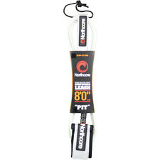 Northcore 8ft Ultra Light Pit Surfboard Leash Unisex Surf Gear - White One Size