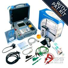 Metrel MI 3305 OmegaPAT Started Kit Incl. FREE Labels, Logbook and More! / UK St
