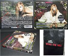 NEW Taiwan CD+DVD Promo Bag w/BOX AVRIL LAVIGNE Goodbye Lullaby What The Hell