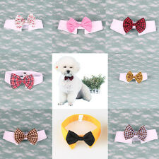 Cute Small Dog Cat Pet Puppy Kitten Toy Bow Tie Necktie Collar Clothes Colors