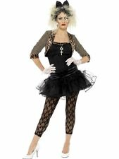 80s Wild Child Costume Ladies Madonna 1980s Fancy Dress Costume Outfit