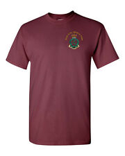 Royal Army Medical Corps t-shirt with RAMC embroidered cap badge