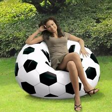 STYLE COMFORT QUEST INFLATABLE SOFA SEAT CHAIR FOOTBALL BASKETBALL COUCH NEW