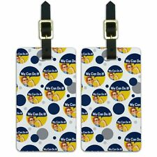 Luggage Suitcase Carry-On ID Tags Set of 2 Inspirational