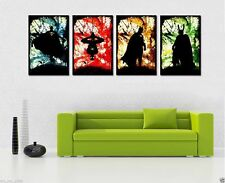 Home Decor HD Print Portrait Art Painting on Canvas The Superhero 4PC