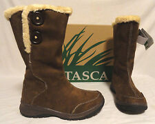 """ITASCA BLITZEN, WOMENS BROWN MICRO SUEDE 14"""" BOOTS W/FAUX LINING, SIZES 6, & 10"""