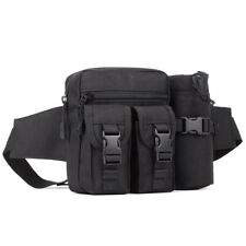 NEW Tactical Military Waist Bag Water Bottle Belt Fanny Pack Camping Hiking