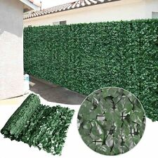 Artificial Ivy Hedge Privacy Fence Screen Panel Indoor/Outdoor Decoration Panels