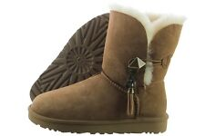 UGG Lilou 1013850-CHE Chestnut Brown Suede Winter Snow Boots Medium Womens