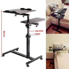 Portable Adjustable desk Laptop Table Stand Lap Sofa Bed Tray Computer Notebook