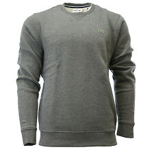 Lacoste Sport Crew Neck In Solid Fleece Sweatshirt Pullover Sweater - Mens