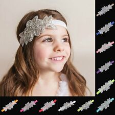 Flower Headband Elastic Baby Girl Princess Hair Band Headwear Hair Accessories