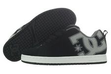 DC Court Graffik SE 300927-BG1 Black Grey Nubuck Skate Shoes Medium (D, M) Mens