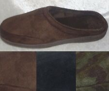 Stafford Mens Slippers Memory Foam velour cover indor outdoor size L XL NEW