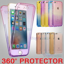 Ultra Thin 360° Full Body Soft TPU Protective Case Cover For iPhone 7 6S Plus