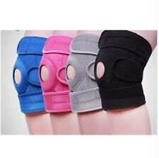 New Neoprene Patella Black Elastic Knee Brace Fastener Support Guard Gym Sport