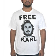 Workaholics Free Karl White T-shirt New Sizes S-2XL