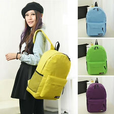 Boy Girl Backpack Student School Bookbag Nylon Knapsack Fashion Shoulder Bag Hot