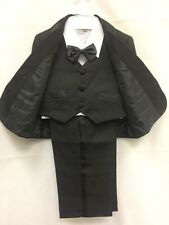 Baby Boy/Toddler 5 Piece Smart Formal Wedding Christening Party Suit Outfit