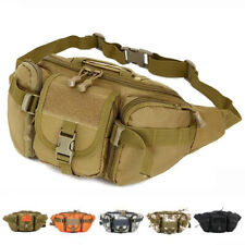 Unisex Tactical Waist Bag Army Fanny Pack Casual Outdoor Travel Sport Waist Pack