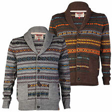 Tokyo Laundry Albert Square Mens Jacquard Cardigan Shawl Neck Button Jumper S-XL