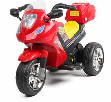 Kids Double Powered Motor - Motorcycle #812 - Red OOLOR