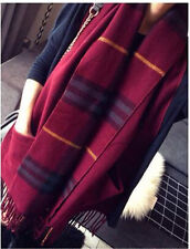 Winter Women Long Warm Soft Scarf  Super Lmitation Cashmere Comfortable Shawl