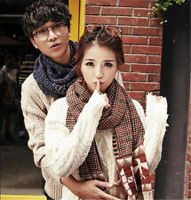 Lady Winter Women Long Warm Soft Scarf Knitting Thickening Couples Wool Scarves
