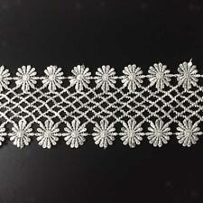 3Yards Crochet Embroidered Crochet Lace Trim DIY Sewing Applique Crafts