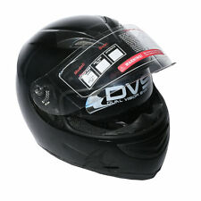 New DOT Vivid, Matte Black Motorcycle Motocross Full Face Helmet Size M L XL XXL