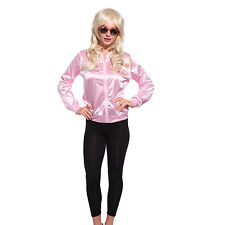 Retro 1950s Grease Pink Ladies Lady Jacket Costume Hen Night Fancy Dress