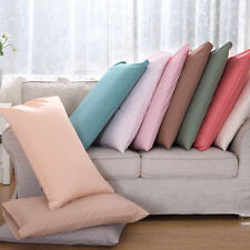 Wholesale 400TC Ultra Soft 2PC Pillow Shams Solid 100%Cotton All Sizes & Colors