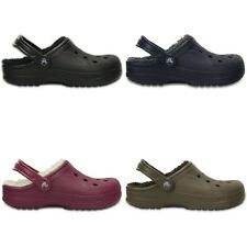 Crocs Winter Clogs - Black Blue Brown Purple - Croslite