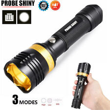 6000LM Shadowhaw XM-L T6 LED Adjustable Focus Flashlight Torch Zoomable Light US