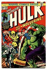 INCREDIBLE HULK #181 1974  1st appearance of the Wolverine Key Issue Comic