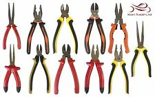 "8"" INCH PLIERS PLIER DIAGONAL SIDE CUTTING CUTTER LINEMAN LONG NOSE COMBINATION"