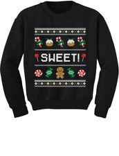 Sweet Candy Ugly Christmas Sweater Cute Toddler/Kids Sweatshirts Gift