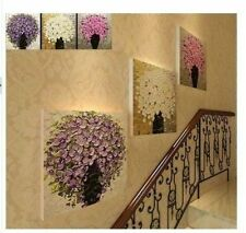 3PC Large  Modern Abstract Flowers HOME Decor Wall ART Oil Painting Unframed