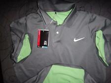 NIKE TIGER WOODS COLLECTION GOLF DRI-FIT POLO SHIRT SMALL MEN NWT $90.00