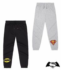 Official Boys Batman, Superman Joggers / Jogging Bottoms, Sizes 4-10 Years
