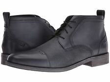 Stacy Adams Men's BURGESS Cap toe chukka Black Leather Boots 25059-001