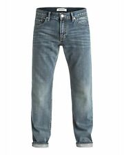 NEW QUIKSILVER™  Mens Sequel Regular Fit Denim Jean Denim Jeans Trousers