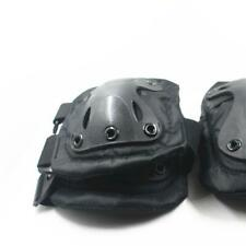 Tactical Adjustable Elbow & Knee Pads Set Airsoft Paintball Protective Gear
