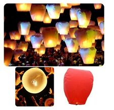 Sky Lanterns Paper Lanterns Chinese Wishing Lantern For Birthday Wedding Party