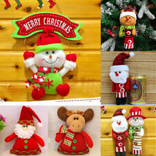 Christmas Decor Xmas Santa Snowman Tree Ornaments Hanging Pendant Gifts Ornament